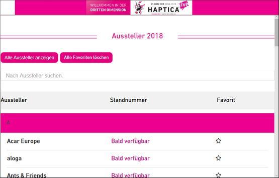 Haptica® live apk screenshot