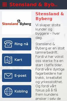 Stensland & Byberg poster