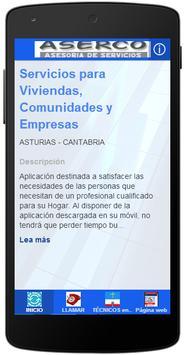 Aserco España poster