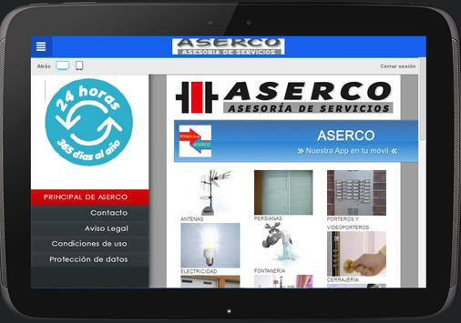 Aserco España screenshot 2