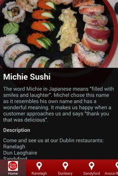 Michie Sushi poster