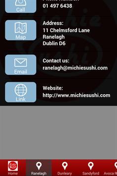 Michie Sushi screenshot 1