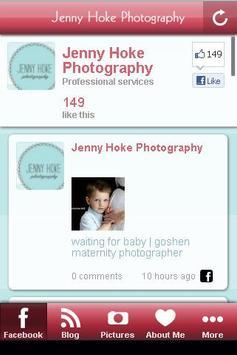Jenny Hoke Photography poster
