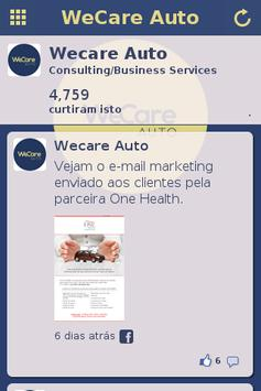 WeCare Auto apk screenshot
