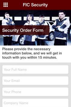 FIC Security screenshot 1