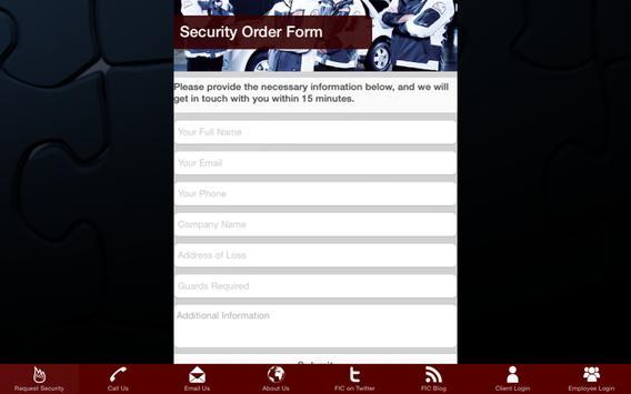 FIC Security screenshot 2