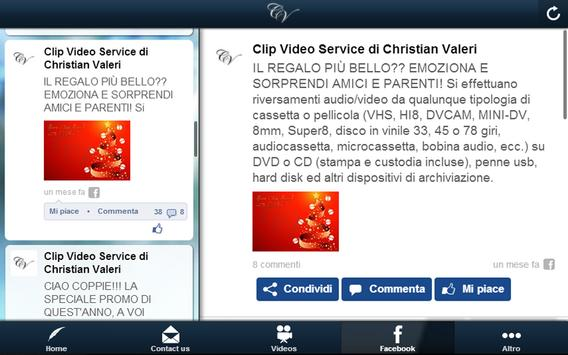 Clip Video Service apk screenshot