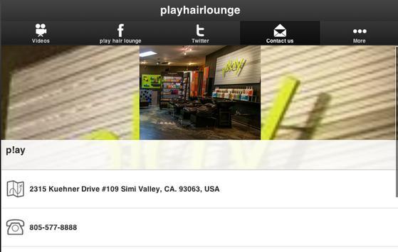 p!ay hair lounge screenshot 4