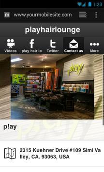 p!ay hair lounge screenshot 2