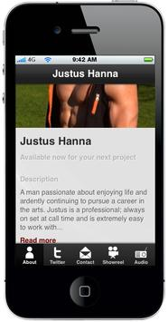 Justus Hanna poster