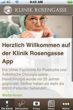 Klinik Rosengasse poster