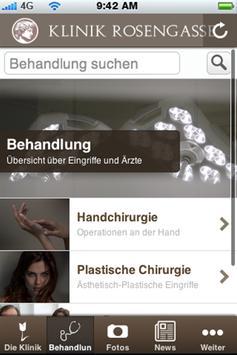 Klinik Rosengasse apk screenshot