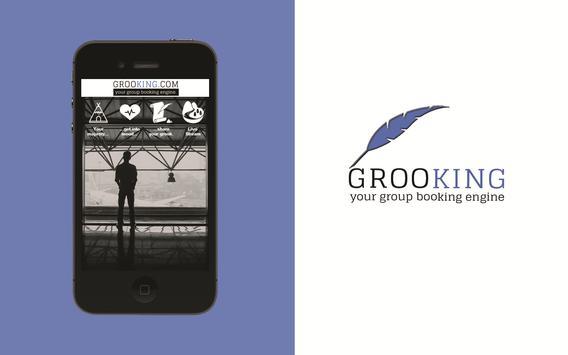 Grooking - Group Booking apk screenshot