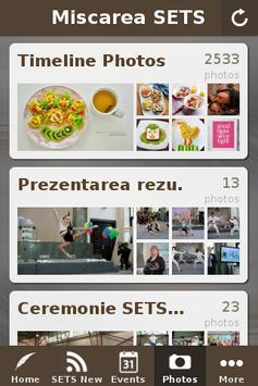 SETS - I'm living healthy too! screenshot 1