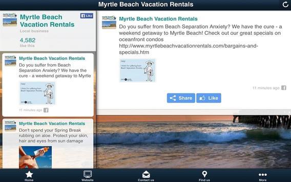Myrtle Beach Vacation Rentals screenshot 4