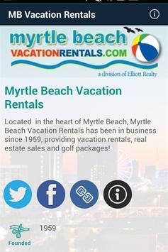 Myrtle Beach Vacation Rentals poster