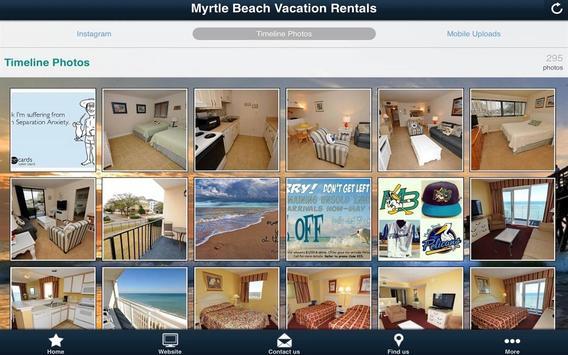 Myrtle Beach Vacation Rentals screenshot 3