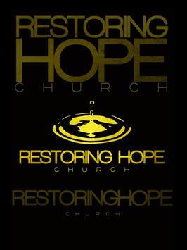 Restoring Hope Church, TN poster