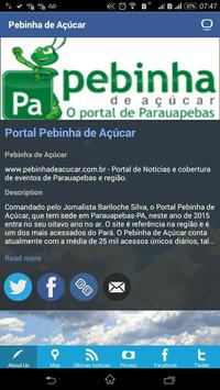 Portal Pebinha de Açúcar screenshot 2