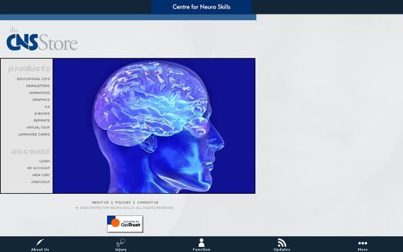 CNS Mobile screenshot 2