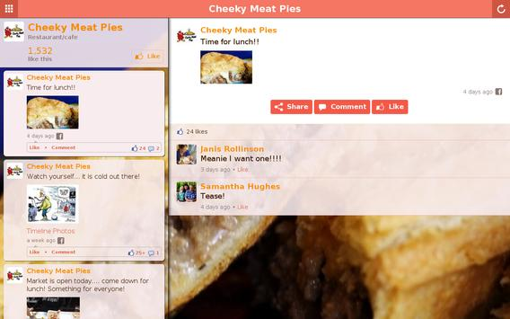 Cheeky Meat Pies apk screenshot