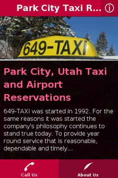 Park City Taxi Ride screenshot 1