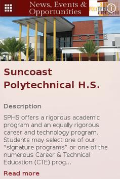 SPHS Newsletter poster