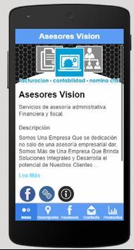 Vision Advisors poster