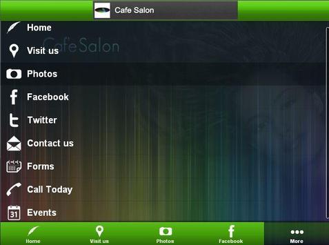 CAFE SALON Hair Studio poster