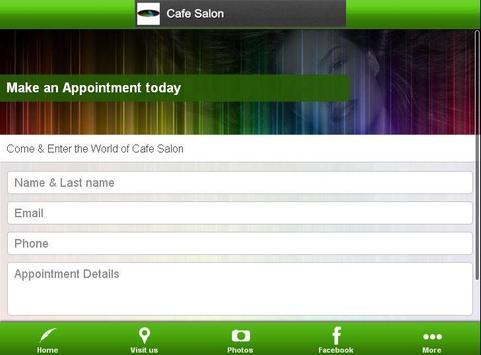 CAFE SALON Hair Studio screenshot 1
