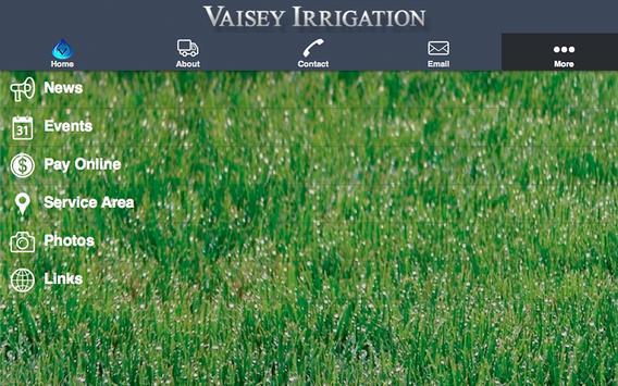 Vaisey Irrigation apk screenshot