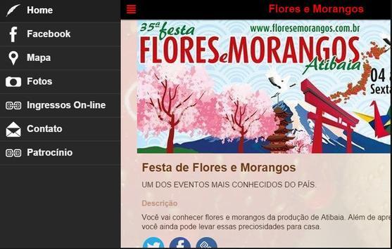 Festa de Flores e Morangos screenshot 2