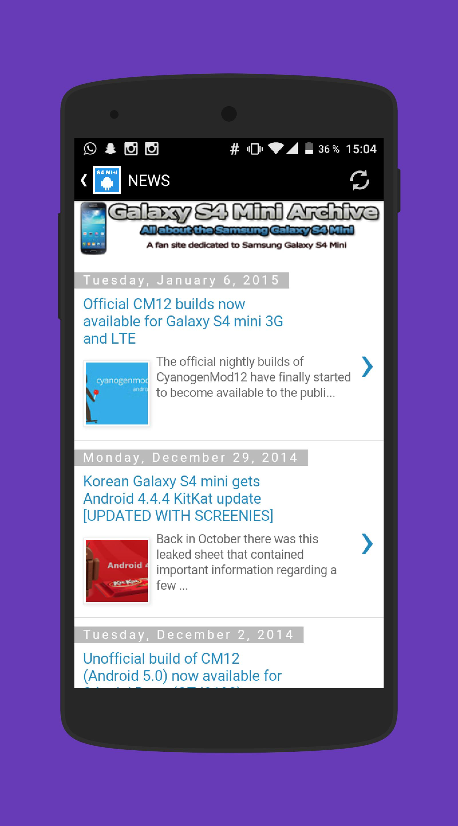 S4 Mini Archive for Android - APK Download