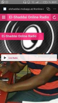 El Shaddai Online Radio screenshot 1