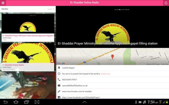 El Shaddai Online Radio screenshot 3
