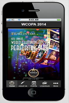 WCOPA - by Worldstars™ poster