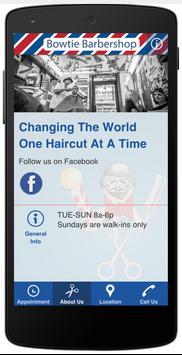 Bowtie Barbershop apk screenshot
