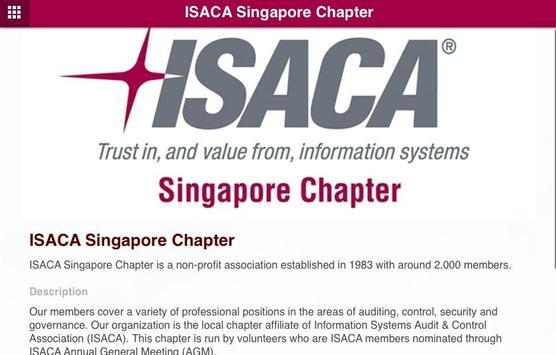 ISACA Singapore Chapter apk screenshot