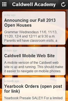Caldwell Academy apk screenshot