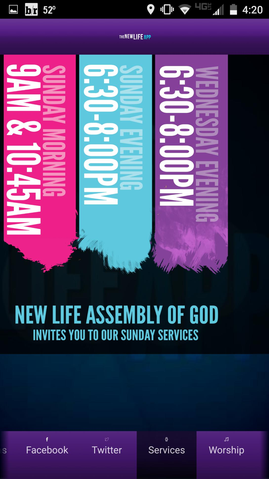 New Life Assembly Of God poster