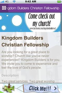 Kingdom Builders CF poster