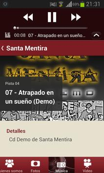 Santa Mentira Rock apk screenshot