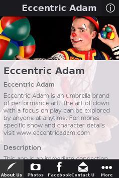 Eccentric Adam poster