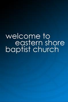 Eastern Shore Baptist Church poster