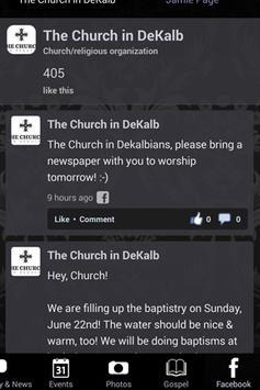 The Church in DeKalb apk screenshot