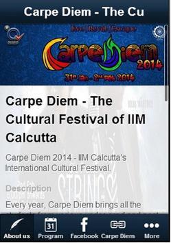 Carpe Diem IIM Calcutta screenshot 1