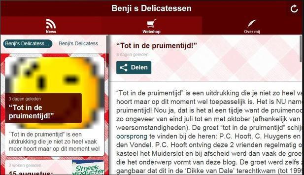 Benjis Delicatessen apk screenshot