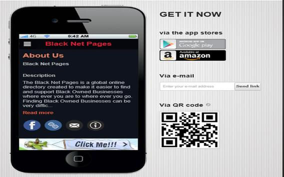 Black Net Pages apk screenshot