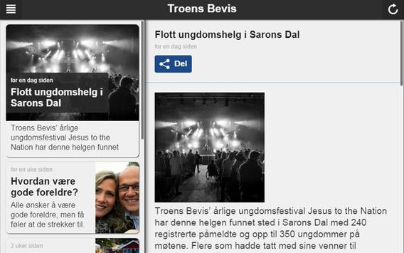 Troens Bevis apk screenshot