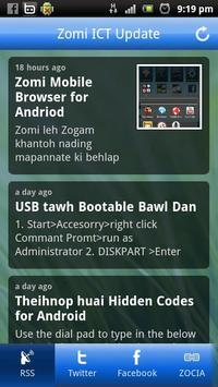 Zomi ICT Update poster